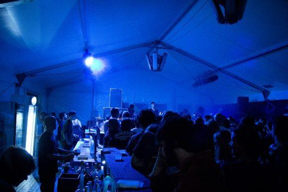 tenda blu